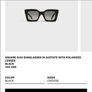 Celine S130 sunglasses